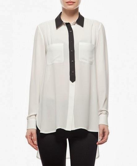 koton, bluz, 2014 bluz modelleri, dantelli bluz, transparan bluz, siyah bluz, beyaz bluz