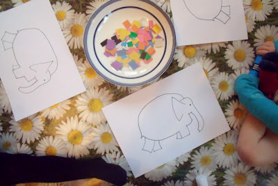 Toddler Literacy Ideas Elmer Elephant