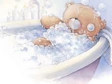 Hora da banhoca!