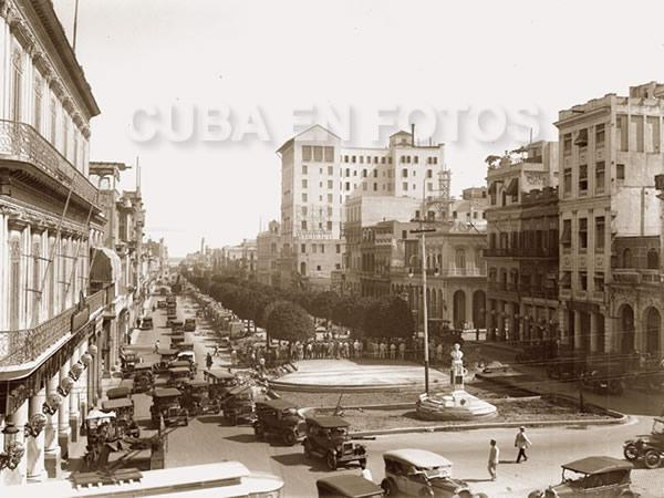 De cuando se hizo el Paseo del Prado o de Martí en La Habana