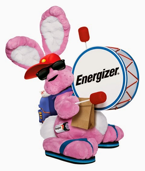 Energizer Bunny Back to School
