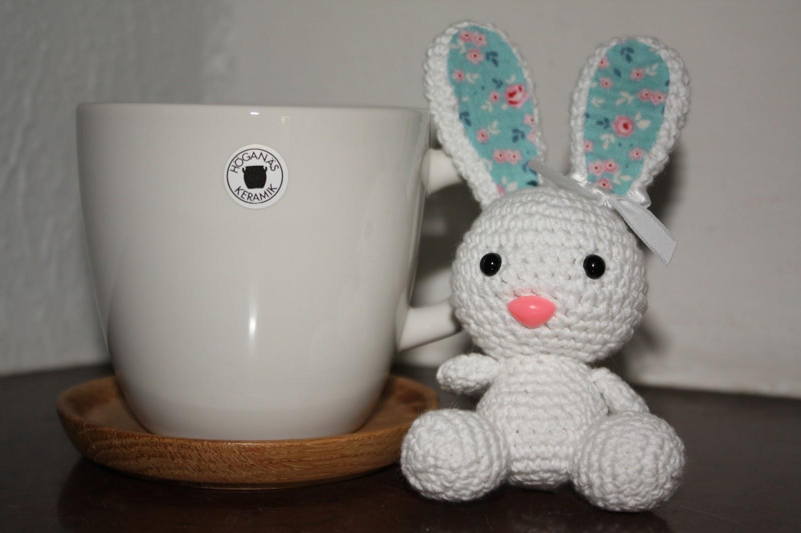 Pysselstad: Gratis monster till amigurumi-kanin