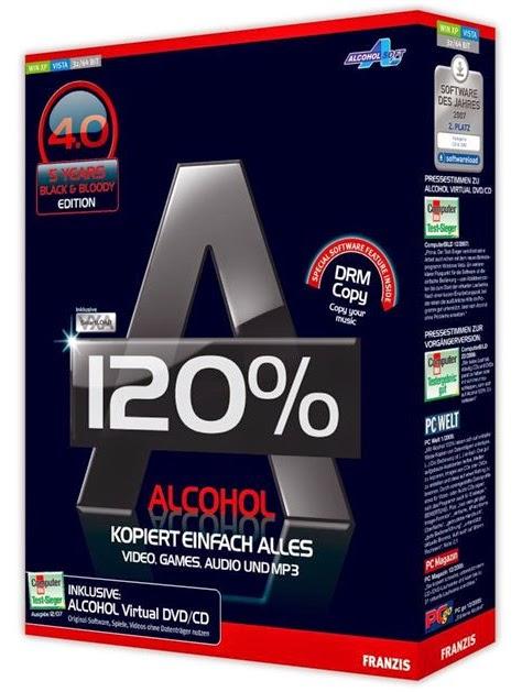 Alcohol 120% 2.0.3.7612 + Crack