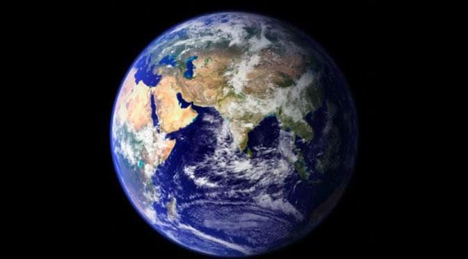 Kecepatan bumi berputar