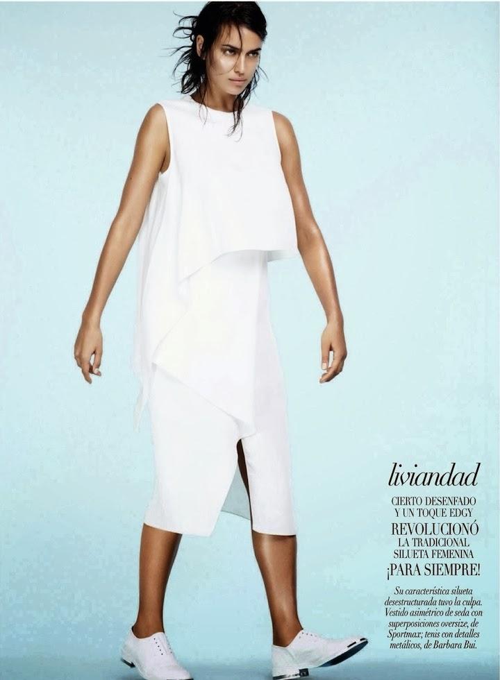 Irina Shayk By David Roemer For Vogue Mexico January 2014.