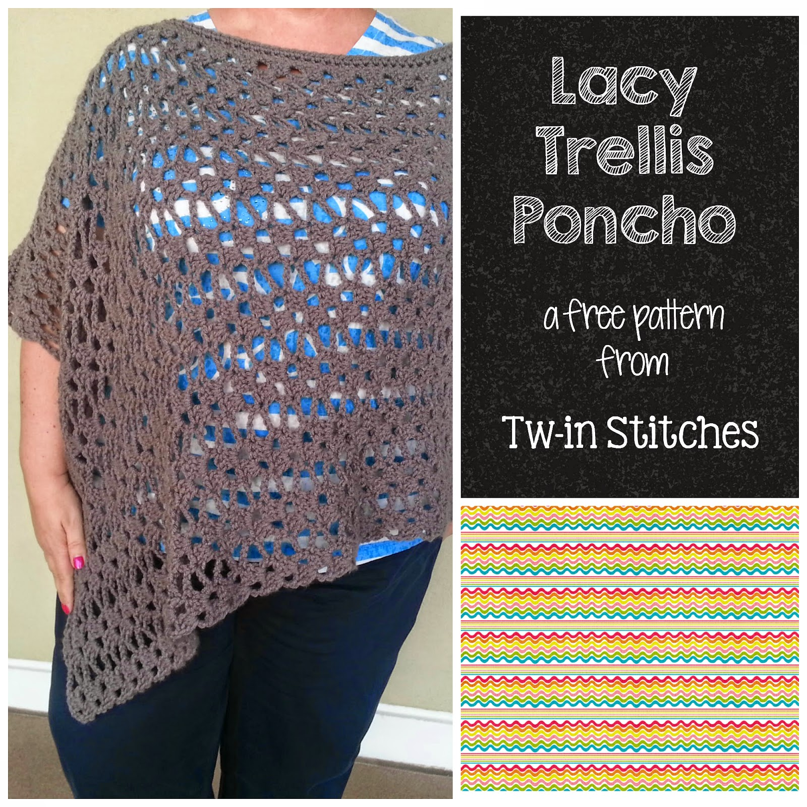 http://twinstitches.blogspot.com/2014/03/lacey-trellis-poncho-version-1.html