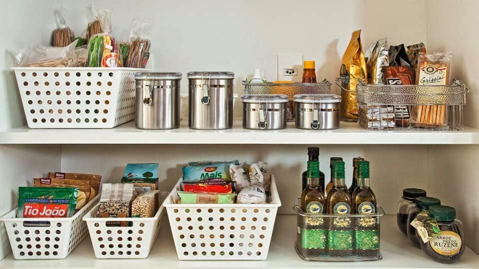 Dicas de como deixar o arm rio de cozinha organizado - Organizadores de armarios ikea ...