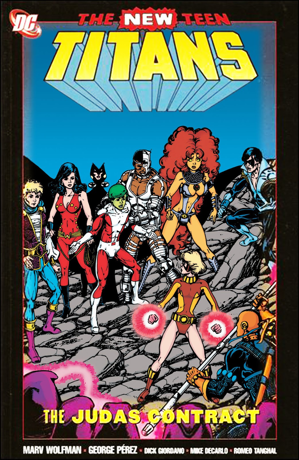 New Teen Titans: The Judas Contract | DC Database | FANDOM ...
