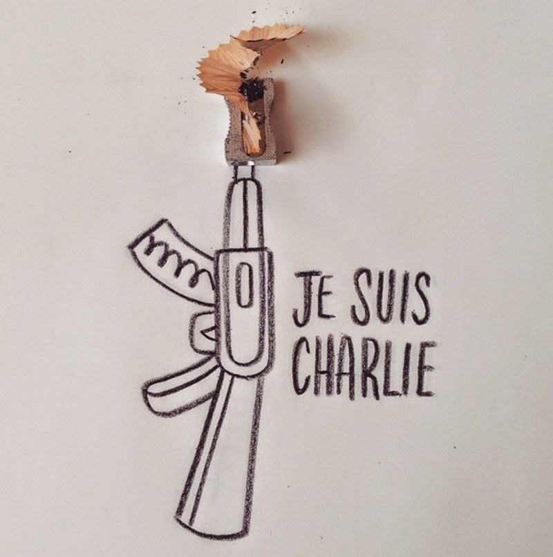 Nous sommes #CharlieHebdo
