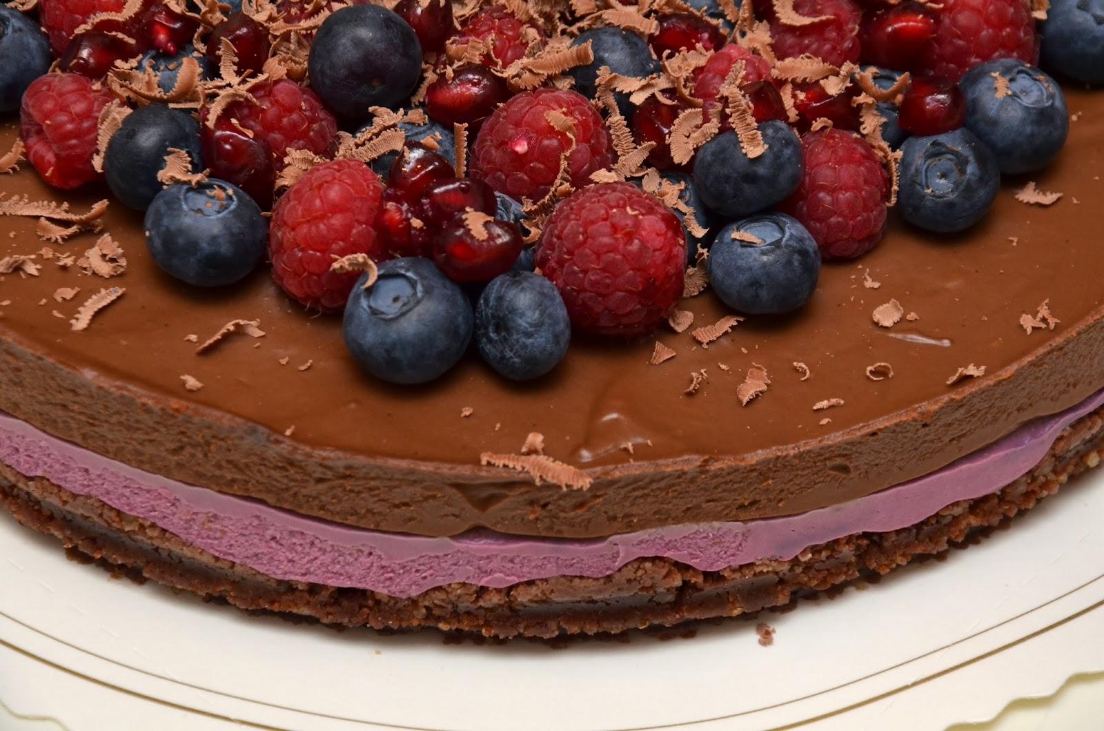 Chokladtårta utan grädde