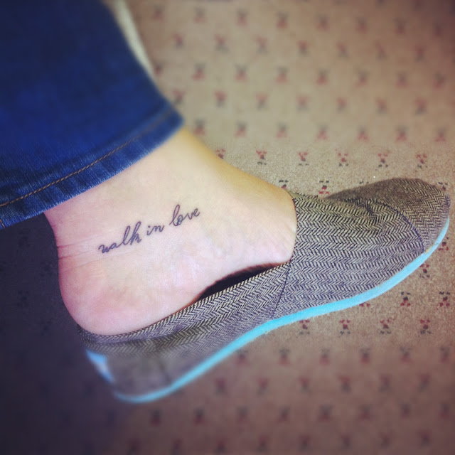 Walk By Faith Tattoo As A Reminder When You Foot Tumblr