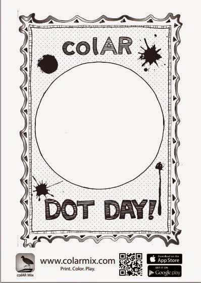 Digital meanderings dot day success for Colar mix coloring pages