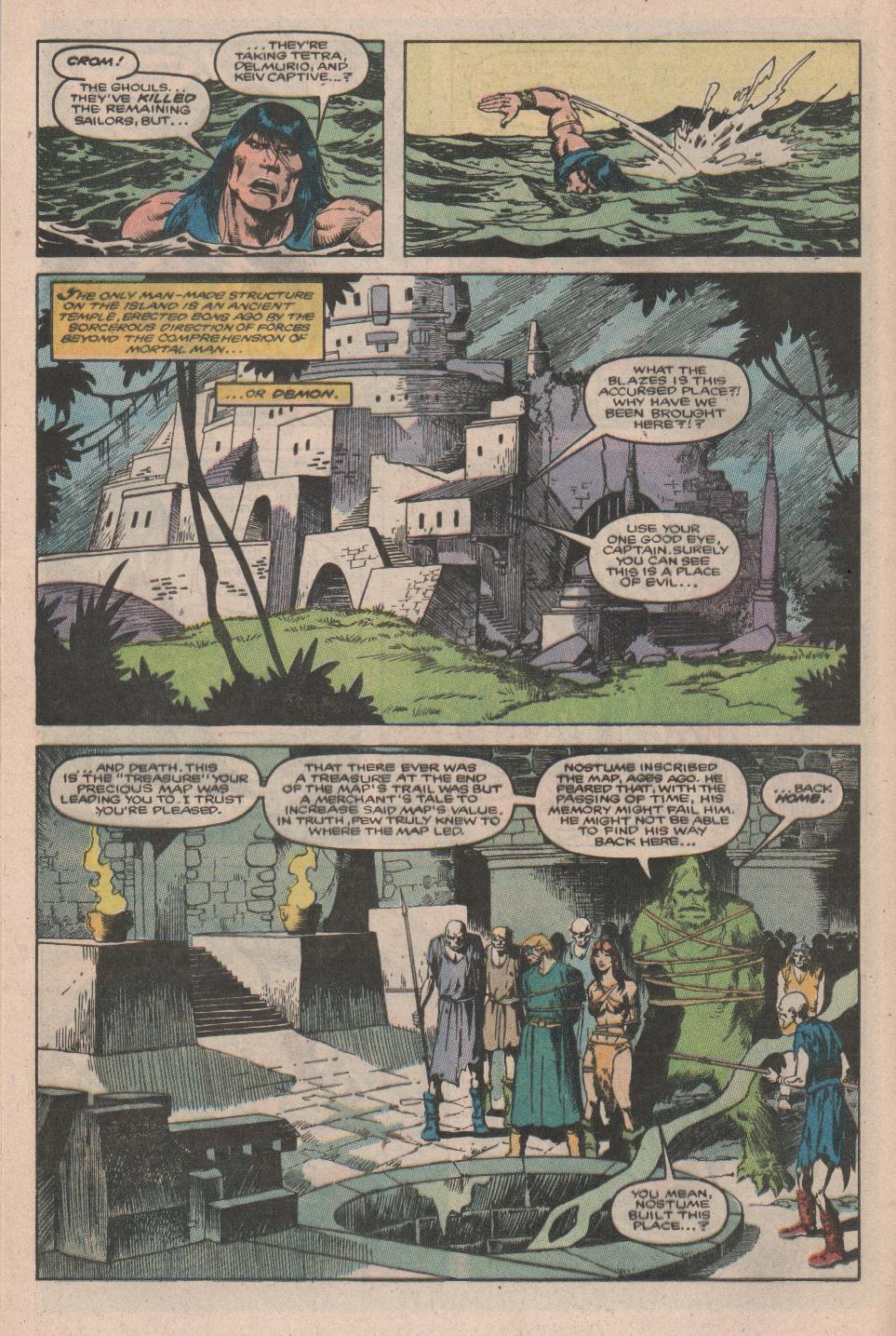 Conan the Barbarian (1970) Issue #177 #189 - English 12