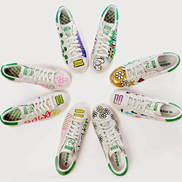stan smith adidas customizzate da pharrell williams stan smith pharrell williams adidas fashion blogger italiane mariafelicia magno fashion blogger di colorblock by felym colette parigi blog di moda di mariafelicia magno