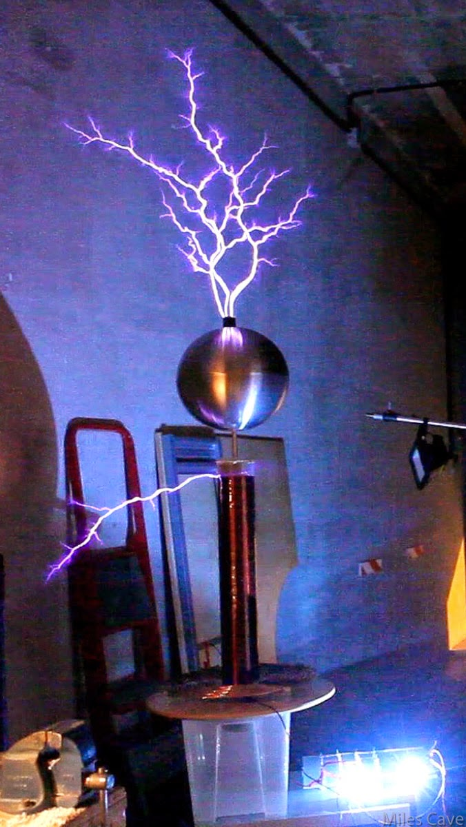 {O.i.D}-{Figure maniac}: Tesla Coil