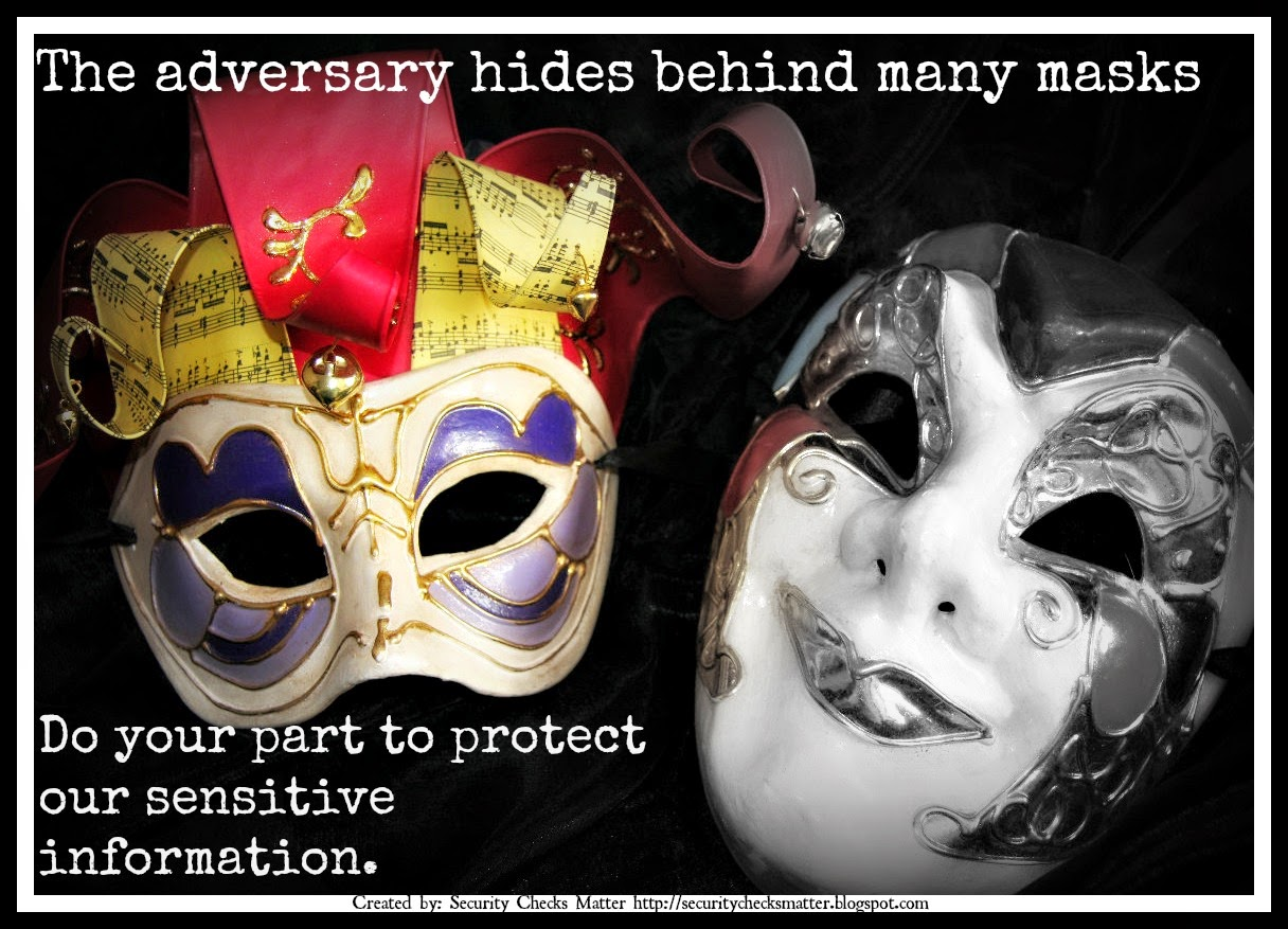 mask security poster