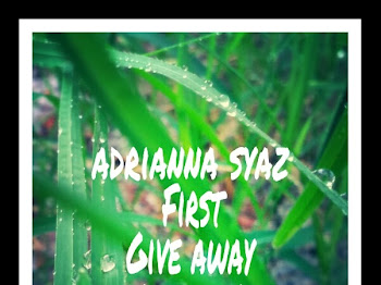 ADRIANNA SYAZ FIRST GIVEAWAY