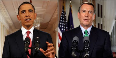 Live Obama's Speech for Debt Ceiling & Deficit Reduction