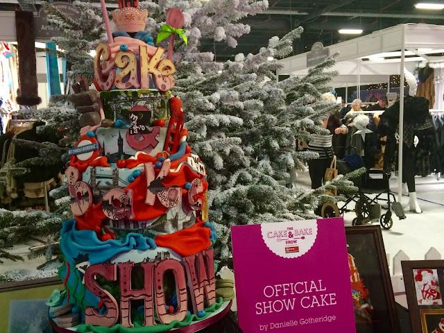 Cake & Bake Show Official Show Cake