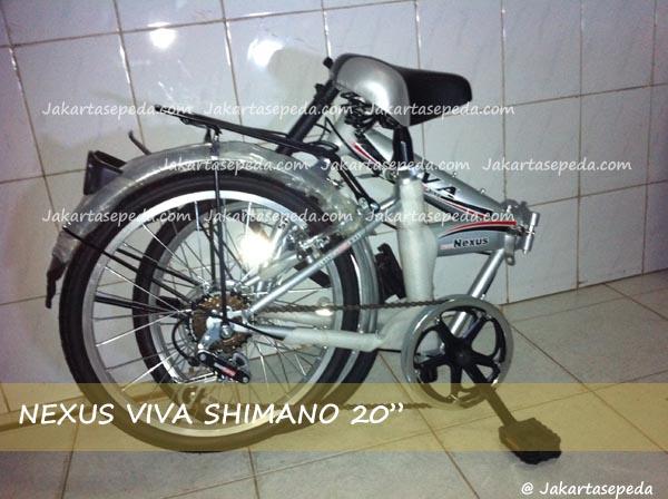 "Seli Nexus Viva SHimano 20""   JakartaSepeda.com - Toko"