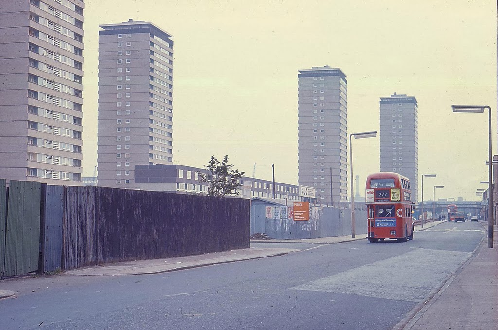 London Of 1973 And 1974 In Color Vintage Everyday