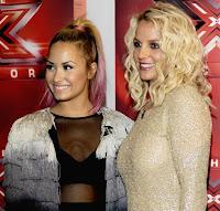 X Factor Judges Britney Spears Demi Lovato Season 2