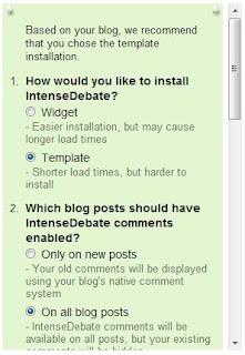 instalasi html intensedebate