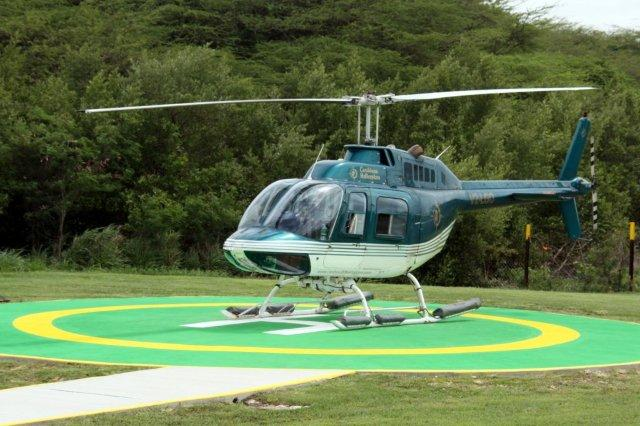 Helicoptero de Antigua a Montserrat