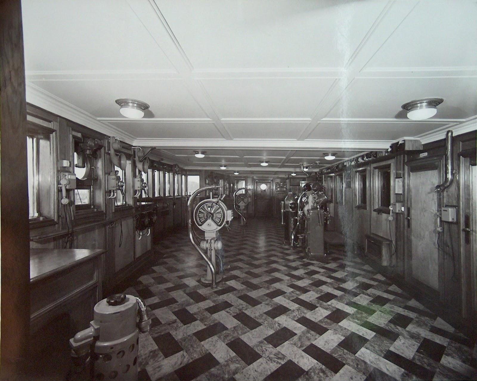 Transatlantic era il transatlantico rex for Ponte delle cabine di rapsodia dei mari 2
