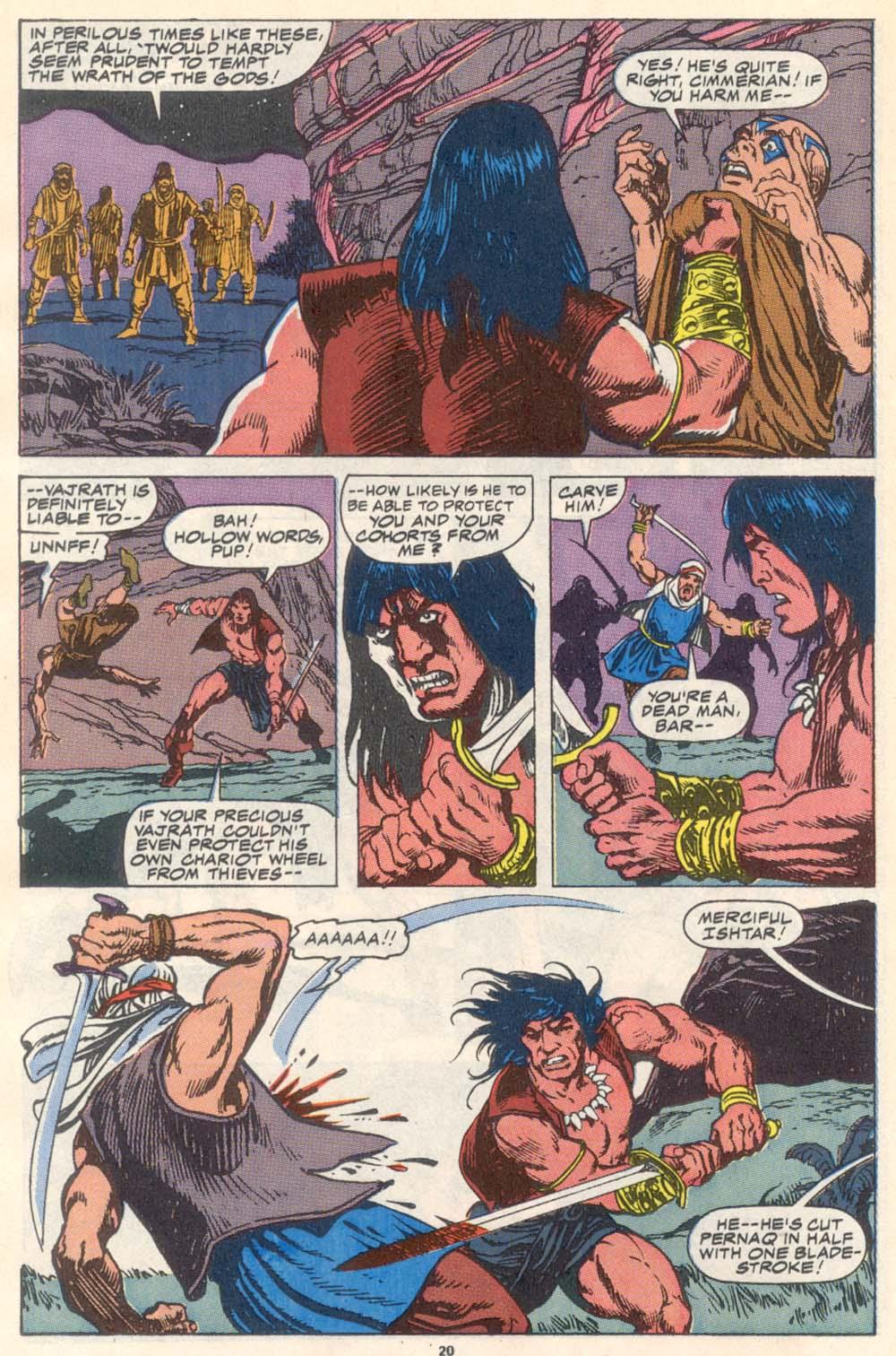 Conan the Barbarian (1970) Issue #223 #235 - English 17