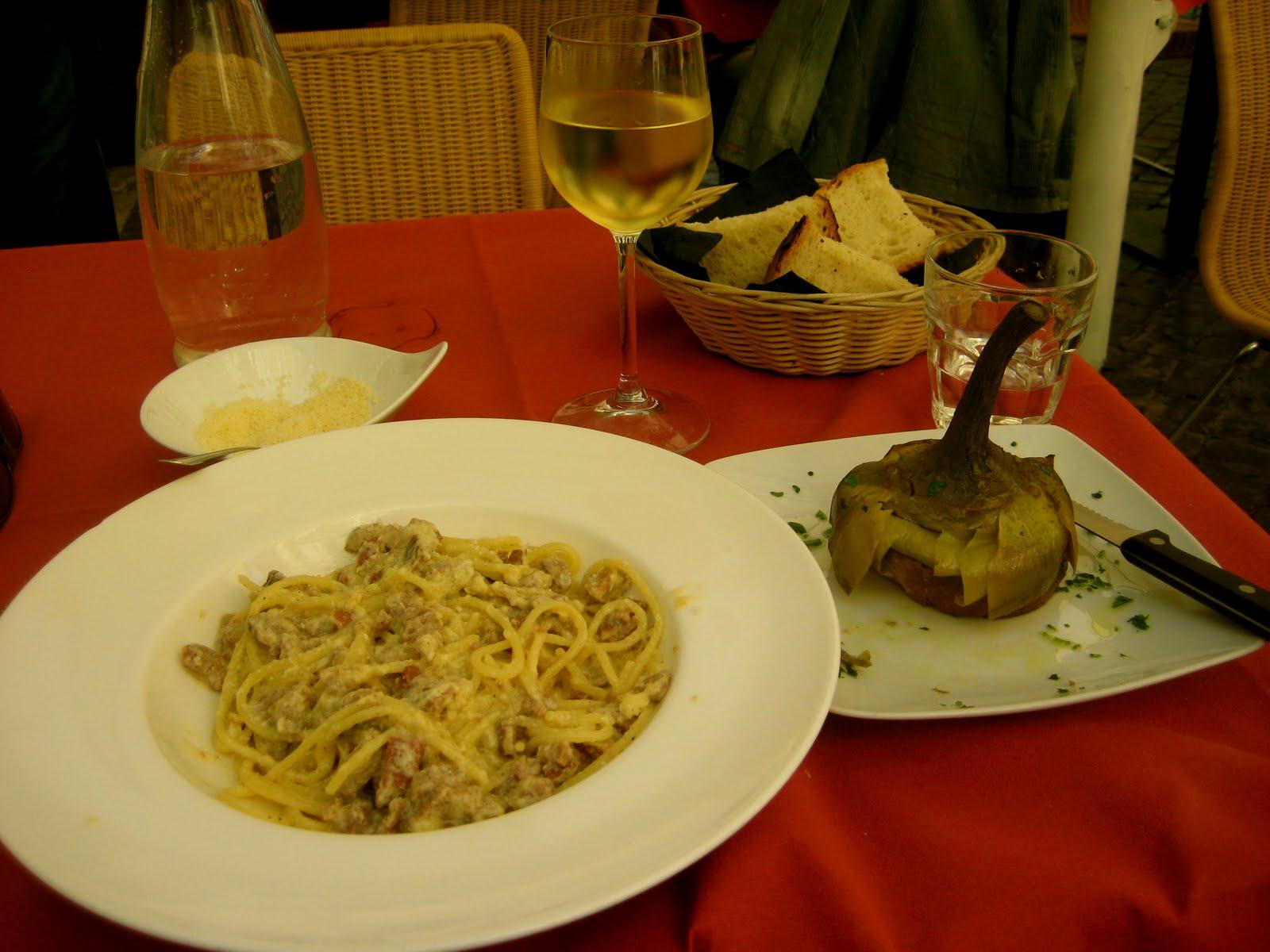 roman style spaghetti alla carbonara spaghetti carbonara roman style ...