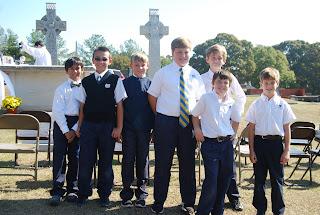 Montgomery Catholic Preparatory Students attend All Souls Day Mass 1