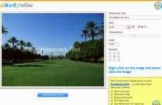 uMarkOnline: permite agregar marcas de agua a fotografías