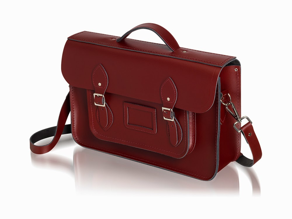 Oxblood Red Leather Cambridge Satchel Company Batchel satchel bag