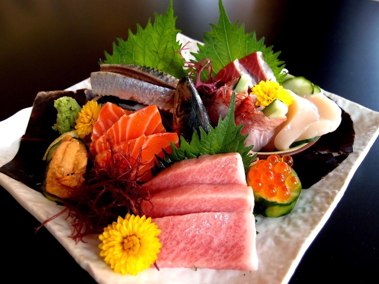 Best restaurant to eat malaysian food travel blog yuzen for Best sashimi fish