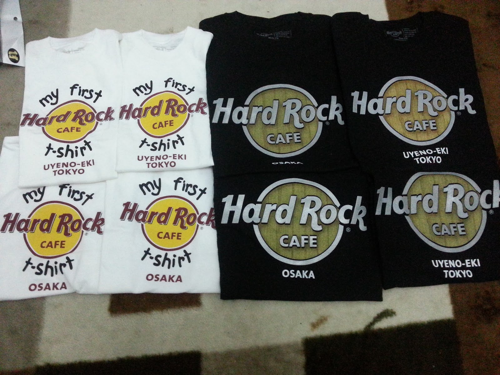 hard rock cafe shirt