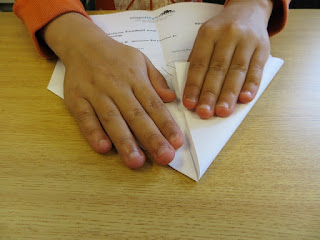 Try folding a piece of paper more than 7 times!