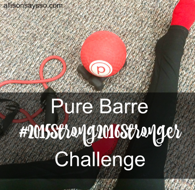 2015Stong2016Stronger, barre class, Pure Barre