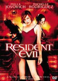 Filme Resident Evil O Hóspede Maldito Dublado AVI DVDRip