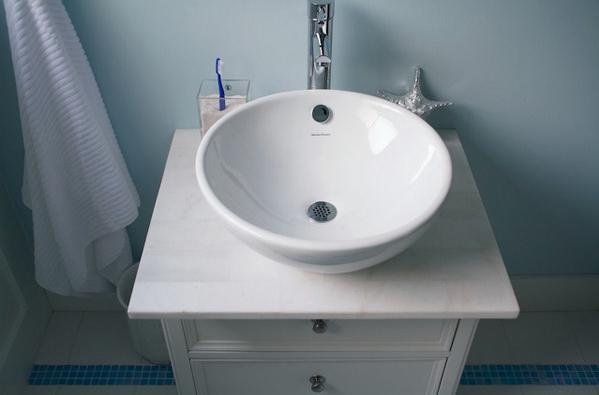 #474312 Doce Verbena Banheiro simples e bonito 599x395 px Banheiro Simples Mas Bonito 2018 3797