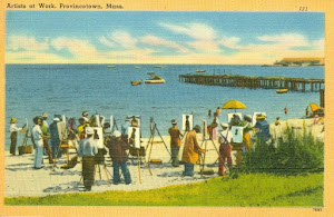 "Painter Charles W. Hawthorne was the ""father"" of  Provincetown's early art movement"