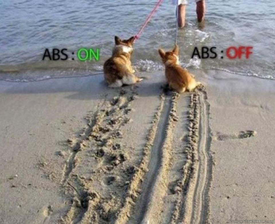ABS encendido o apagado