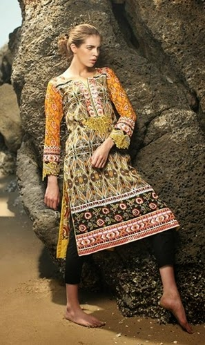 Firdous Embroidered Shirts For Eid-14
