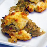 Carla Hall's Biscuits and Gravy 11.1.11