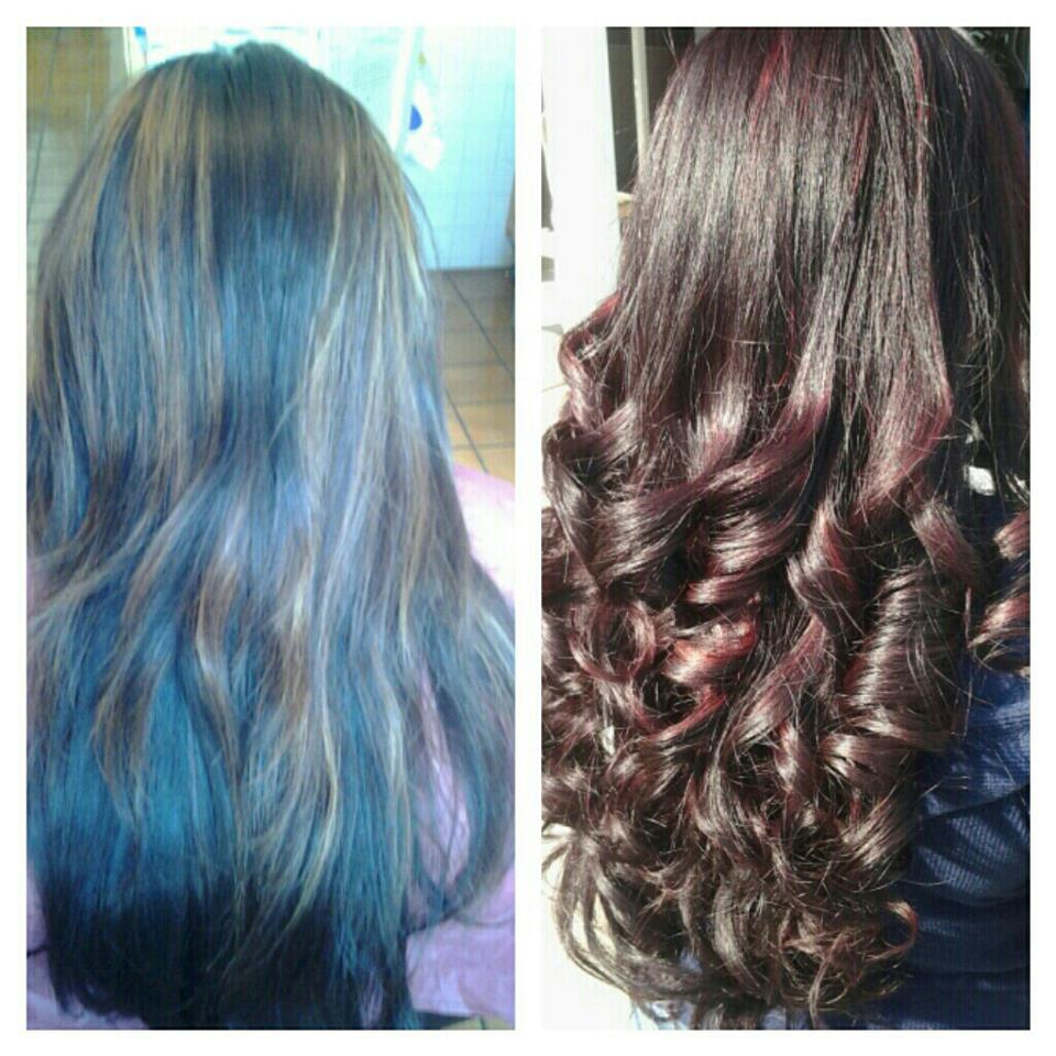 Healthy Hair Is Beautiful Hair Medium Brown To Red Auburn With