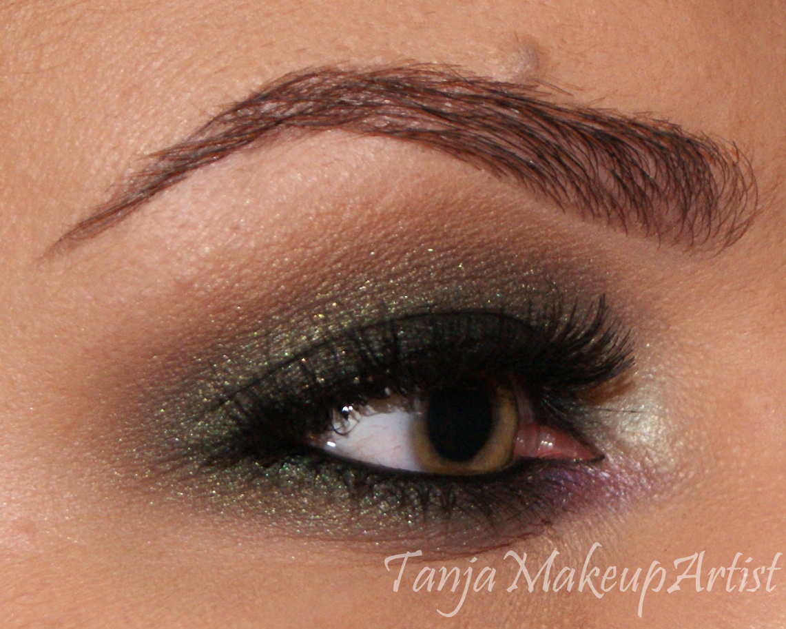 Eotd green smokey eye with a hint of purple tanja loves makeup eotd green smokey eye with a hint of purple baditri Images