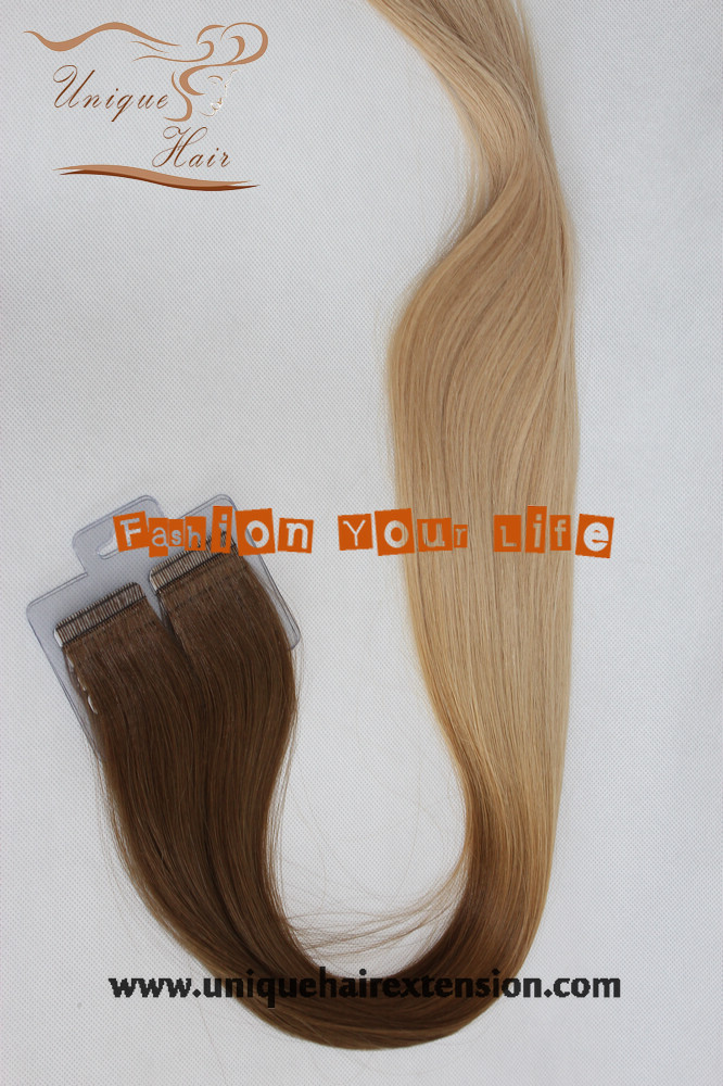 Skin Weft Extensions Ombre 12