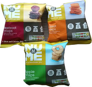 Nu Me Vegetable and Fruit Crisps