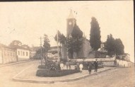 Igreja e Praça do Rosario de Barbacena MG