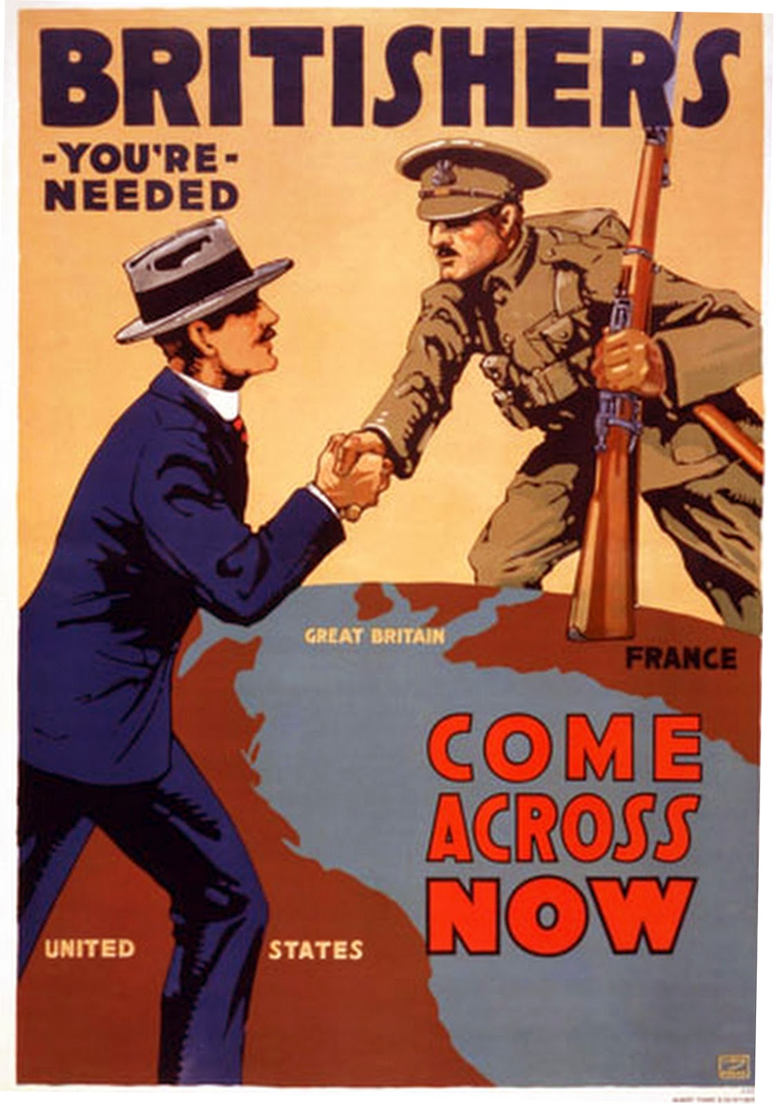 transpress nz: appeal to Britishers in America, WW1